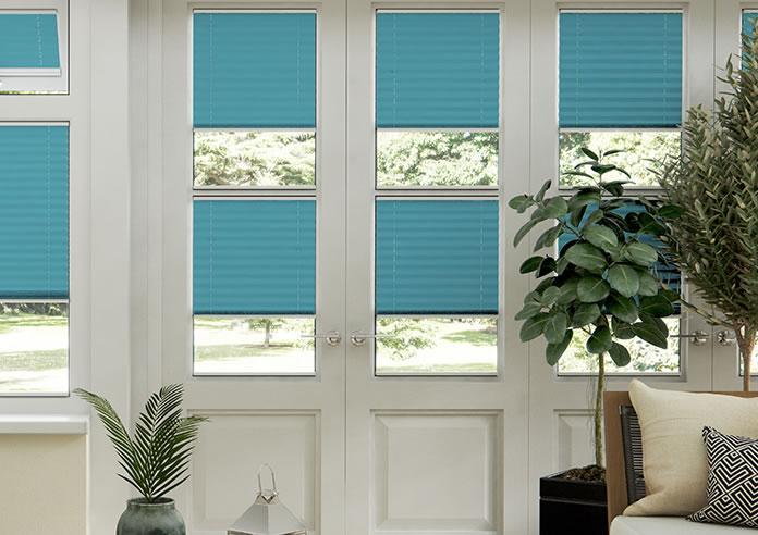 Ecoshade, Turquoise - Neat Fit Blind