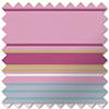 Stripy (Blackout), Pink - Roller Blind