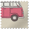 VW Campervan, Pink - Roman Blind