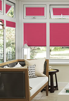 Ecoshade, Cherry Pink - Neat Fit Blind
