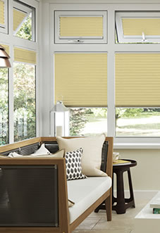 Ecoshade, Mist Yellow - Neat Fit Blind