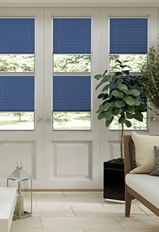 Ecoshade, Oriental Blue - Neat Fit Blind