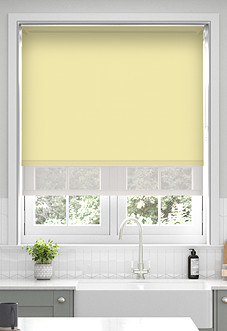 Rimini (Blackout), Sand & Illusion Sandy - Double Roller Blind