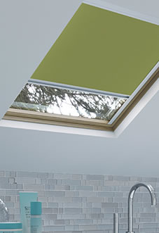 Energy Saving (Blackout), Green - Loft Blind