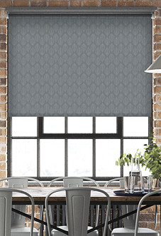 Beech Leaf (Blackout), Carbon - Motorised Roller Blind