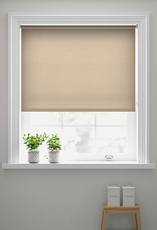 Deanna, Latte - Motorised Roller Blind