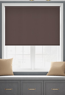 Origin (Blackout), Coffee - Motorised Roller Blind
