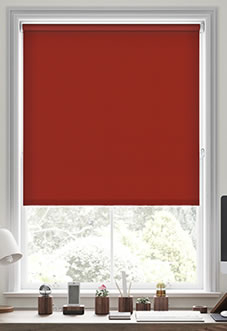 Origin (Blackout), Crimson - Motorised Roller Blind