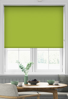 Origin (Blackout), Lime - Motorised Roller Blind