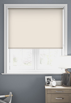 Origin (Blackout), Magnolia - Motorised Roller Blind