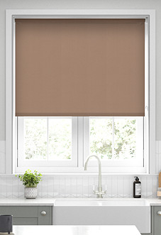 Origin (Blackout), Taupe - Motorised Roller Blind