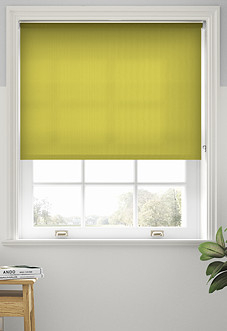 Roma, Lime - Motorised Roller Blind
