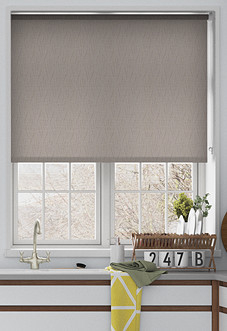 Tiffany, Dove - Motorised Roller Blind