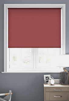 Trinity (Blackout), Lipstick - Motorised Roller Blind