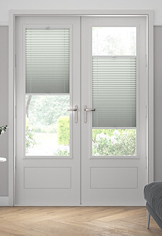 Pleated (Blackout), Chiffon - Perfect Fit Blind