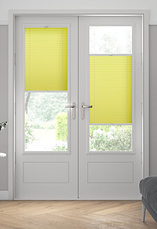 Pleated, Golden Fizz - Perfect Fit Blind