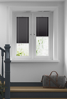 Pleated, Night Grey - Perfect Fit Blind