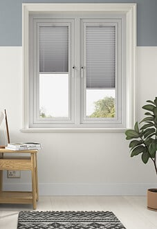 Pleated, Pewter Grey - Perfect Fit Blind