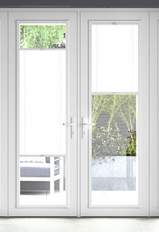Pleated, White - Perfect Fit Blind