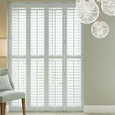 Daytona, Horizon Grey - Plantation Shutter