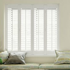 Daytona, Pure White - Plantation Shutter