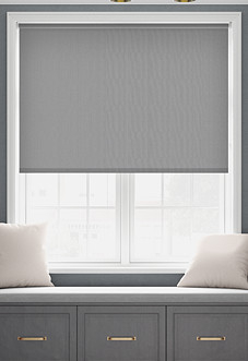Desert Floor (Blackout), Grey - Roller Blind