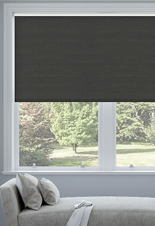 Hush (Blackout Sound Barrier), Charcoal - Roller Blind