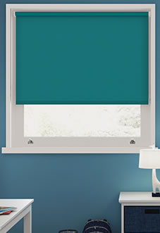 Hush (Blackout Sound Barrier), Jade - Roller Blind