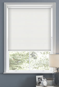 Hush (Blackout Sound Barrier), White - Roller Blind