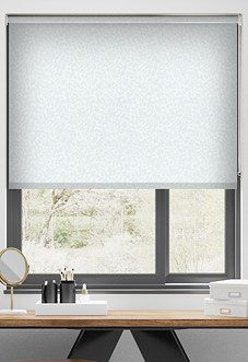 Jasmine (Blackout), Lily White - Roller Blind