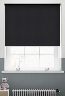 Origin (Blackout), Ebony - Roller Blind