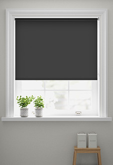 Origin (Blackout), Graphite - Roller Blind