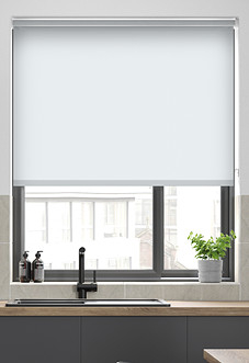 Origin (Blackout), Snow - Roller Blind