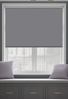 Rimini (Blackout), Storm Cloud - Roller Blind