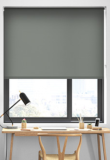 Rimini, Storm Cloud - Roller Blind
