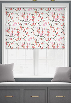 Roseto (Blackout), Flame - Roller Blind