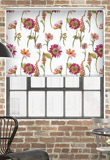 Summer Trail (Blackout), Blossom - Roller Blind