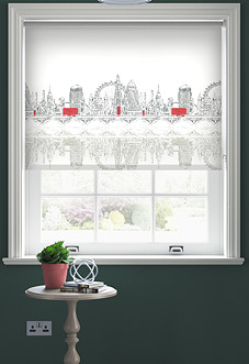 The Big Smoke - Roller Blind