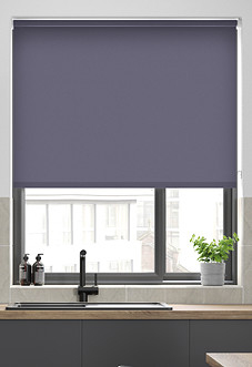 Trinity (Blackout), Mauve - Roller Blind