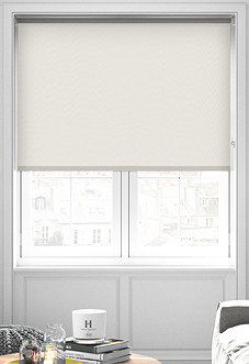 Trinity (Blackout), Soft Grey - Roller Blind