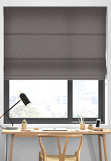 Devonshire, Light Grey - Roman Blind