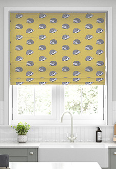Hedgehog, Jonquil - Roman Blind