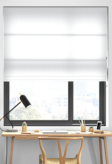 Mayfair, White - Roman Blind