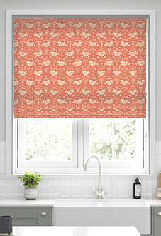 Narvik, Burnt Orange - Roman Blind