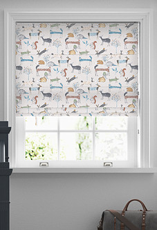 Oh My Deer, Colonial - Roman Blind