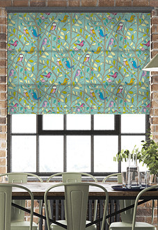 Tweety, Duckegg - Roman Blind