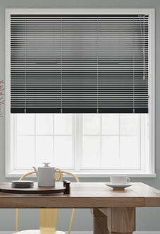 Spectrum, Matt Charcoal Grey - Venetian Blind