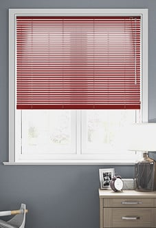 Origin, Matt Red - Venetian Blind