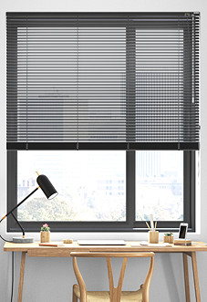 Vista, Black - Venetian Blind