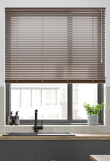 Wood Effect, Walnut - Venetian Blind